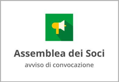 Avviso convocazione assemblea dei soci