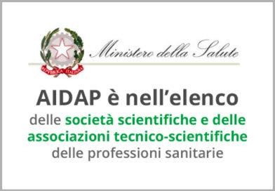 Elenco delle società scientifiche e delle associazioni tecnico-scientifiche delle professioni sanitarie